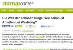 Startupcareer Artikel