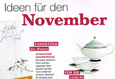 Wohnidee - Ideen für den November