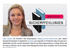 Gründerszene - Buchempfehlungen von Delia Fischer